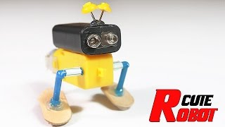 How To Make The  Cutest Walking Robot On Youtube