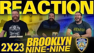"Brooklyn Nine-Nine 2x23 REACTION!! ""Johnny and Dora"""