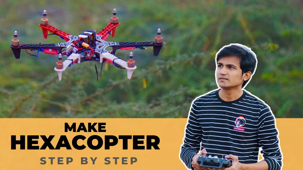 How to make Hexacopter Drone with Apm 2.8 Ardupilot | Indian LifeHacker