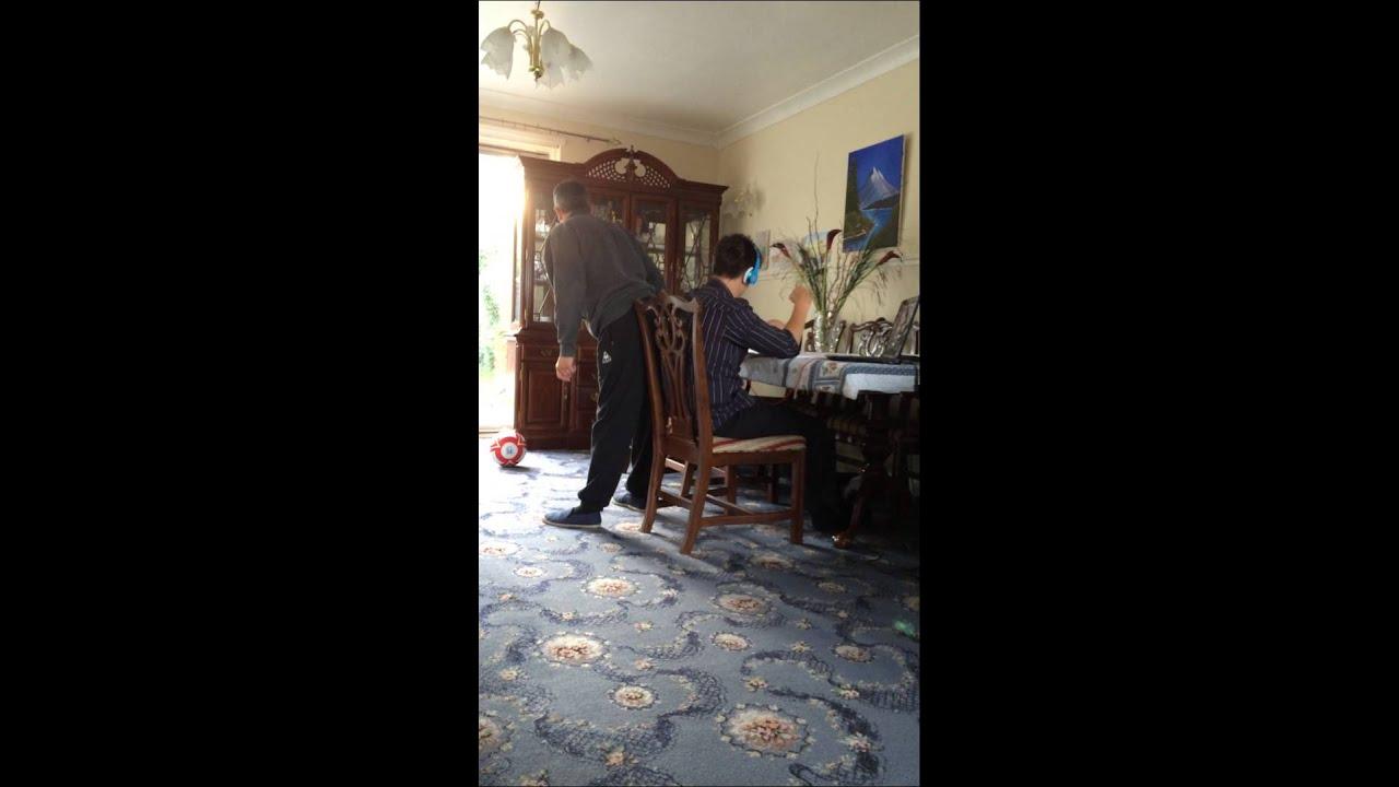 Dad Farts On His Son  Clw - Youtube-8045