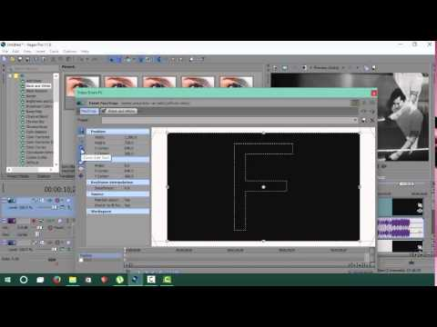 sony vegas pro 12 how to add a black screen