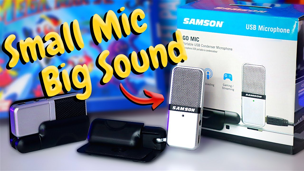 Best & Cheapest Streaming Microphone EVER - Samson Portable Go Mic!