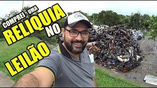 FUI NO LEILÃO DE MOTO E CARROS DE 500 REAIS