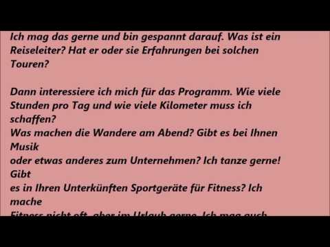 Deutsche Brief A1 A2 B1 Prüfung 26