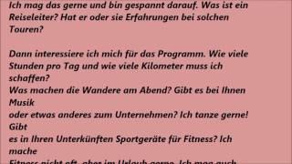 Deutsche Brief A1 A2 B1 Prüfung 12