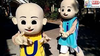 Badut Upin & Badut Ipin Joget Heboh Lagu Anak KUN ANTA, BALONK…