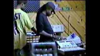 "Tony Rebel / Sly Dunbar - Rare Studio Session Footage #2 - ""Vibes Of The Time"" Album (1992)"