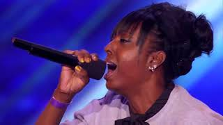 Ashly Williams' Emotional  I Will Always Love You  Prompts Tears   THE X FACTOR USA 2013ipad
