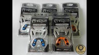 видео Капа боксерская Venum (Венум) Predator Mouthguard Grey/Orange -  купить в интернет-магазине OLYMPION