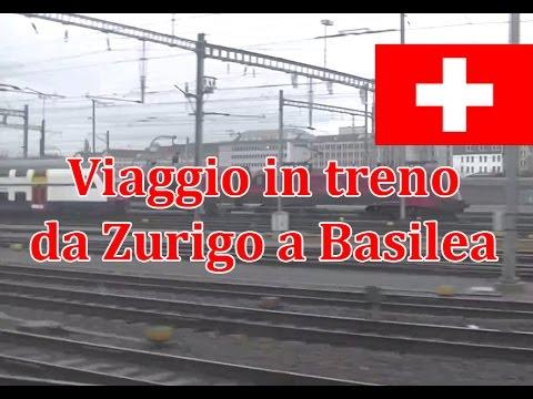 Viaggio In Treno TGV Zurigo - Basilea