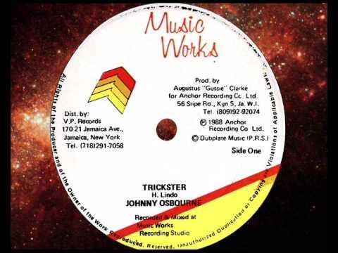 "Johnny Osbourne - Trickster 12""  1988"