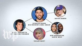Untangling the web of Scooter Braun, Taylor Swift and Big Machine