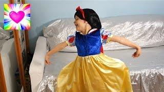 Превращение в Принцессу Принцессы Диснея Куклы Наряды Видео для Детей Все Серии Подряд Сборник