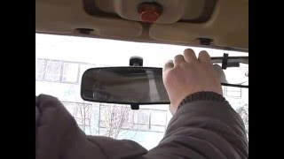 Регулировка зеркал в автомобиле. Уроки инструктора avto-school.by