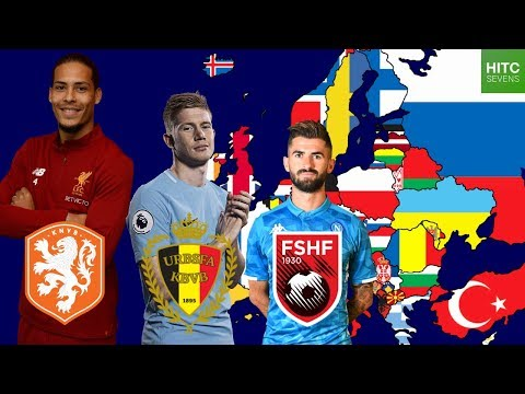Best Footballer From EVERY Country in Europe