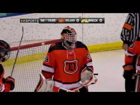 Breck vs. Delano Boys High School Hockey