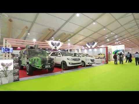 MSPV In Defence Exhibition Defexpo 2016 India Defence Expo