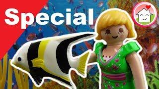 Pimp my PLAYMOBIL Aquarium / PLAYMOBIL Neuheit 2017 - Familie Hauser