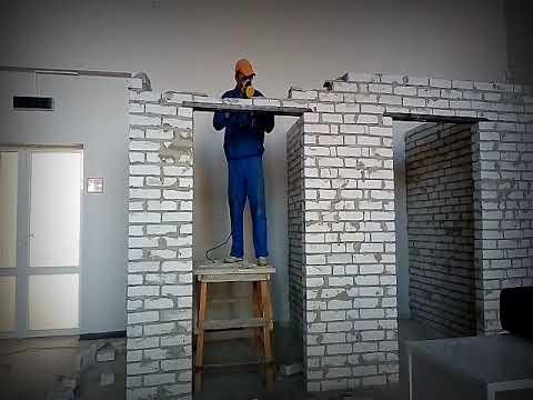 Демонтаж кирпичных стен 30.10.2018