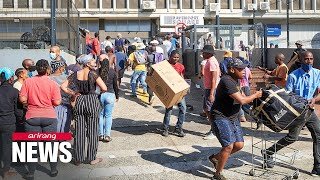 72 dead as violence, unrest continues in South Africa