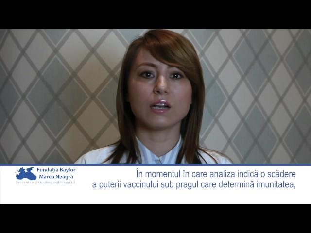 Informații despre efectul și durata vaccinului împotriva hepatitei virale B