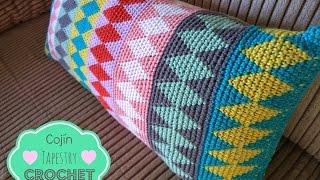 Cojín Tapestry Crochet - How to learn tapestry crochet