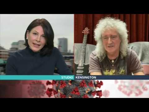 Queen's Brian May talks about Coronavirus changing the world