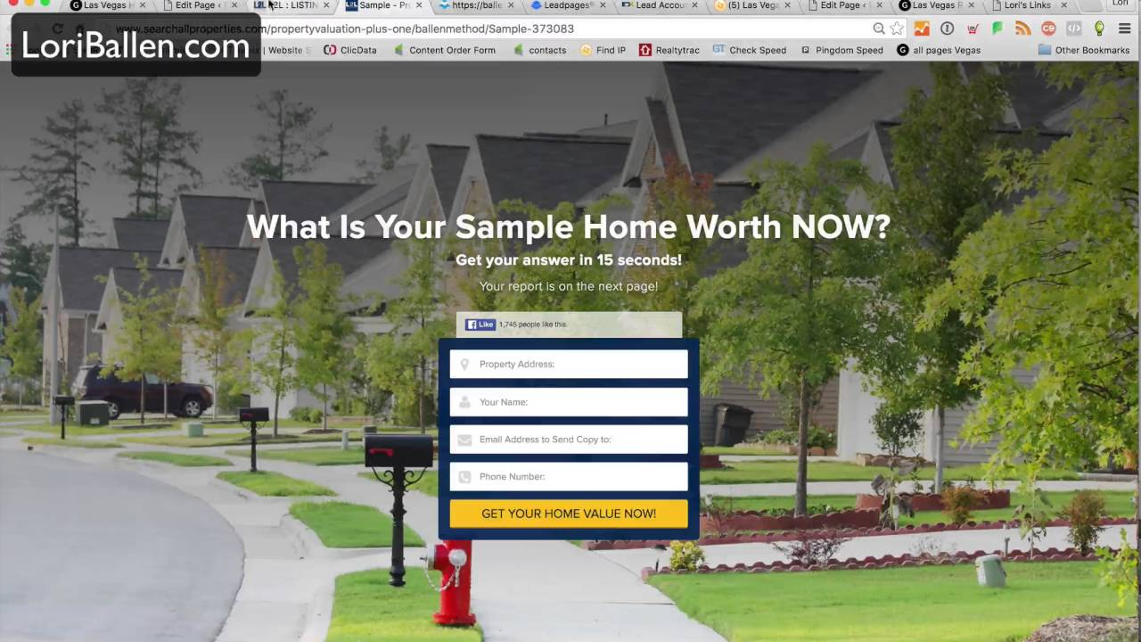 how to get seller leads online with home valuations youtube