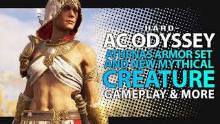 Assassin's Creed Odyssey Weekly Reset - ATHENA ARMOR SET, NEW MYTHICAL BOSS & more (AC Odyssey DLC)