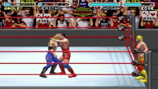 WWE Road To Wrestlemania X8 - Kurt Angle - Intercontinental Championship (Gameboy Advance)