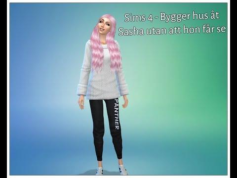 Bygger ett hus till Sasha i Sims 4 utan att hon få se