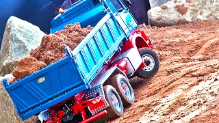 RC Truck MB Arocs! ConstructionWorld! Liebherr! MAN! CAT-Dumper! ScaleART!