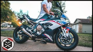 Austin Racing GP1R Full Exhaust Install & Sound Test | 2020 BMW S1000RR