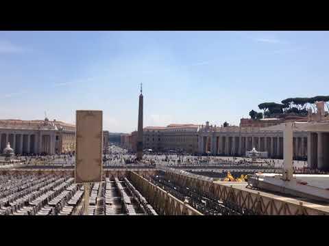 St Peter's Square, Vatican 2015