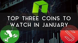 Top 3 Coins to Watch in January | WaBi, NEO, & Substratum!