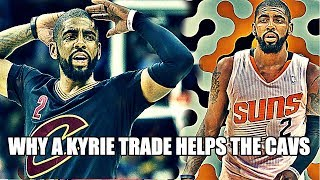 Why a Kyrie Trade Might HELP the Cavs BEAT the Warriors