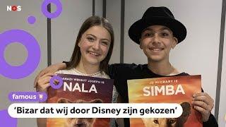Gioia en Tommie zijn Nala en Simba in de nieuwe Lion King 🦁