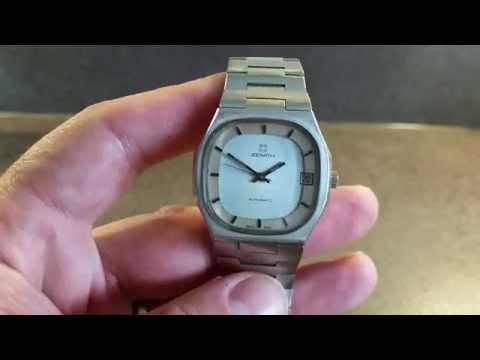 c1976 Zenith Surf automatic vintage watch