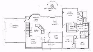 Tiny Ranch House Floor Plans  See Description   See Description