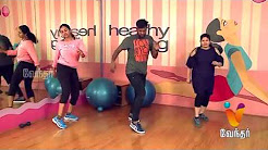 Zumba Dance Workout Zumba Fitness 18-12-2017  Vendhar TV Show Online