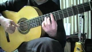 Flamenco Guitar - Tangos Falseta 3 - Miguel Aragón.m4v