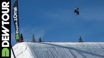 Peetu Piiroinen's Run from Snowboard Slopestyle Qualifier, Dew Tour iON Mountain Championships 2013