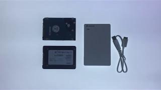 How to setup a tools free USB 3 Hard Drive enclosure