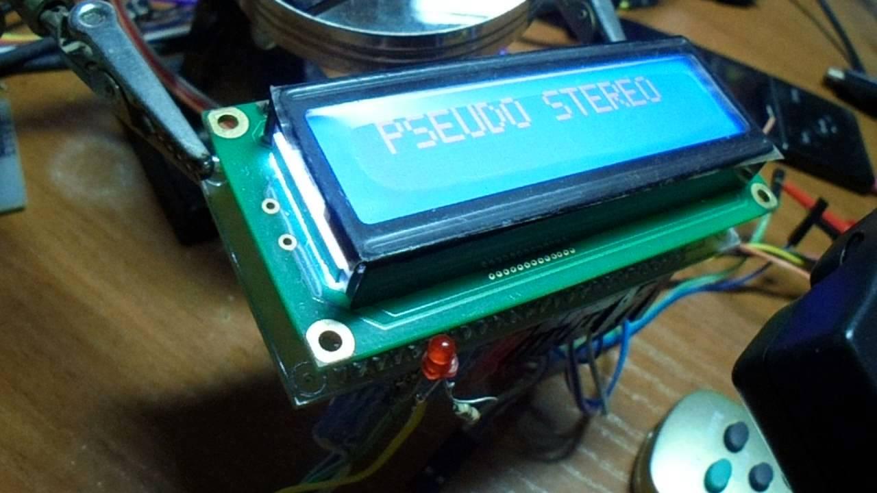 Темброблок на TDA8425 с программированием кнопок ПДУ (NEC,RC5)