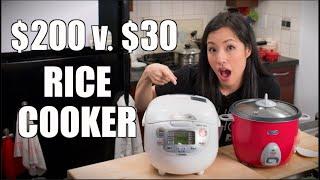 Worth It? $200 Rice Cooker VS $30 Blind Taste Test!