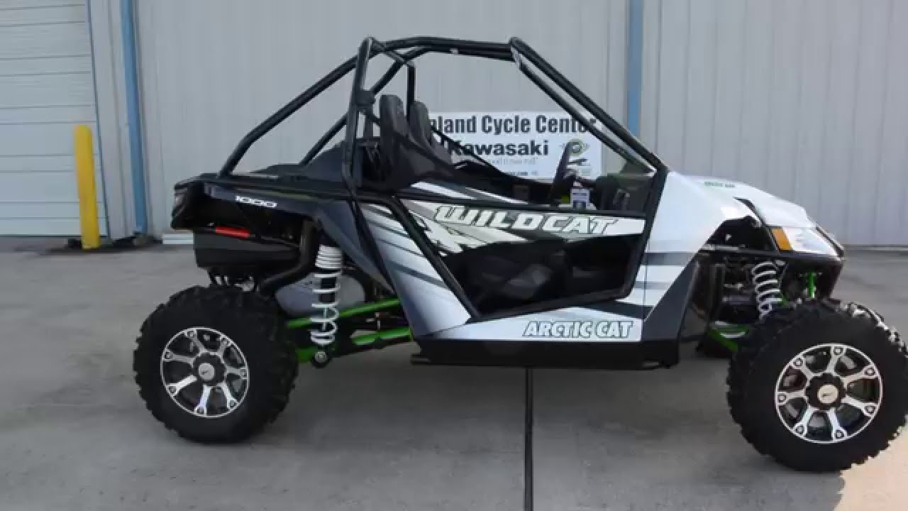 17 499 2016 Arctic Cat Wildcat X In White Metallic Overview And Review
