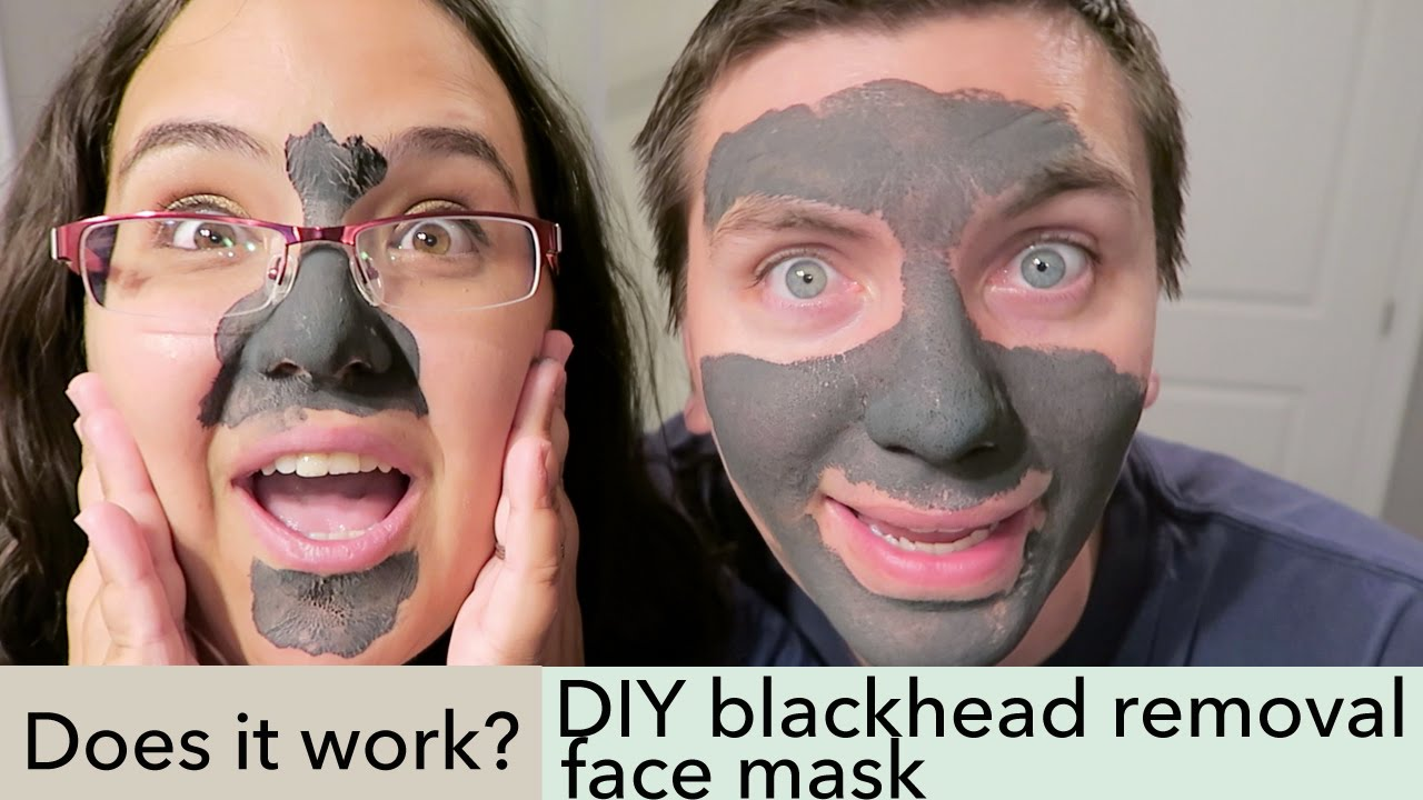 Does it work we try out a diy blackhead removal face mask youtube solutioingenieria Images