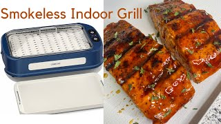 GREECHO GRILL Indoor Smokeless Grill Review Plus GIVEAWAY!!!