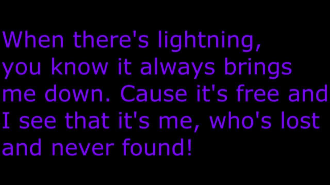 Rainbow in the dark lyrics