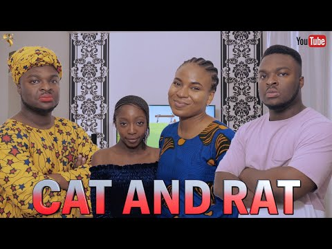 AFRICAN HOME: CAT AND RAT